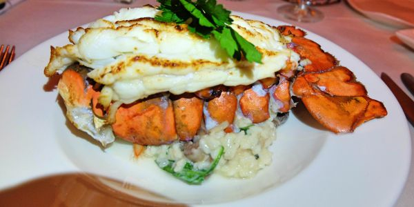 m waterfront grille miami lobster