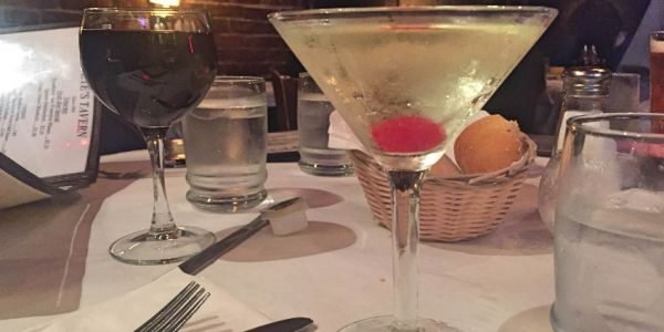 Big Apple Martini in Pete's Tavern